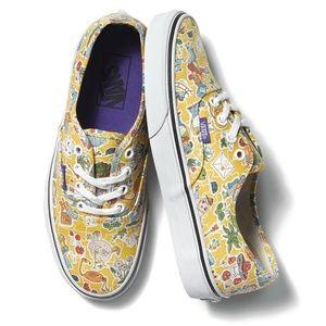 "SOLD! VANS x Liberty of London ""Alice""Sneakers"
